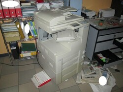 Armored cabinet and photocopier - Lot 17 (Auction 5427)
