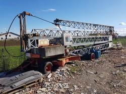 Benedini B18 crane - Lot 1 (Auction 5440)