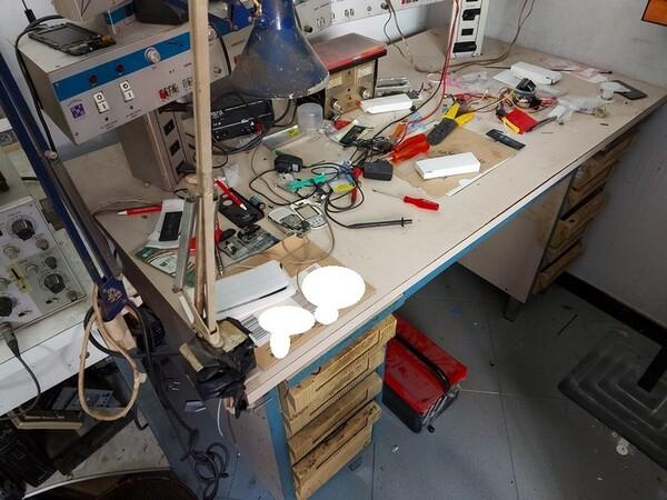 Immagine n. 3 - 2#5452 Oscilloscopio national e attrezzature elettroniche da ufficio