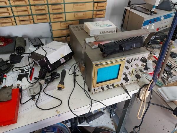Immagine n. 7 - 2#5452 Oscilloscopio national e attrezzature elettroniche da ufficio