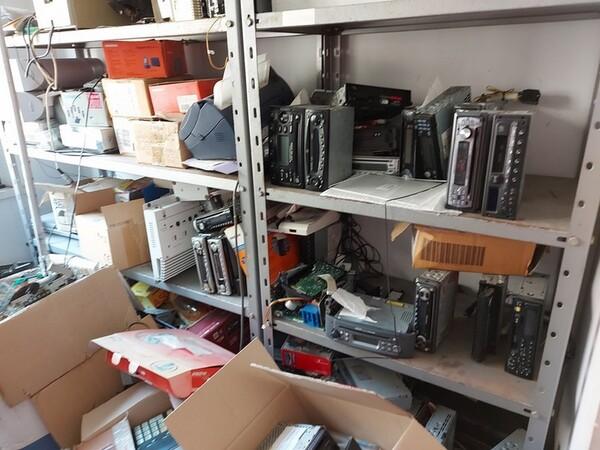 Immagine n. 10 - 2#5452 Oscilloscopio national e attrezzature elettroniche da ufficio