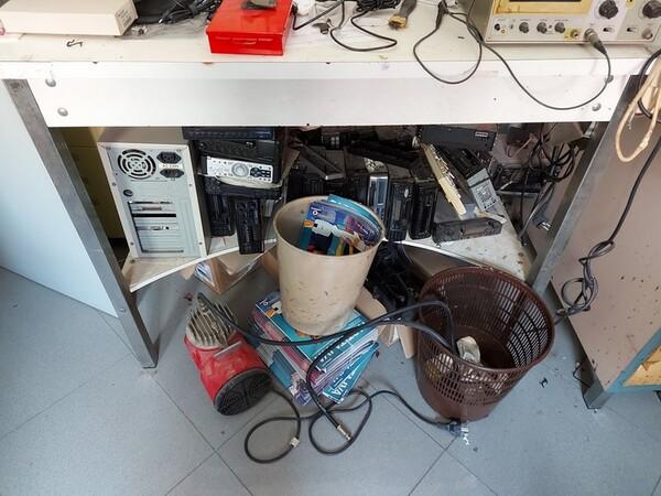 Immagine n. 11 - 2#5452 Oscilloscopio national e attrezzature elettroniche da ufficio