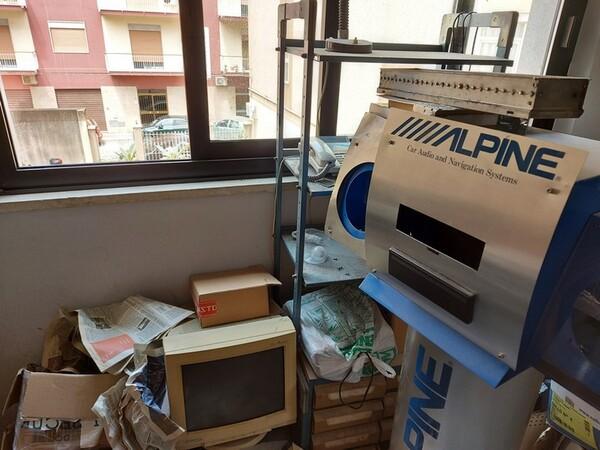 Immagine n. 14 - 2#5452 Oscilloscopio national e attrezzature elettroniche da ufficio