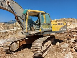 Volvo excavator and CAT wheel loader - Auction 5454
