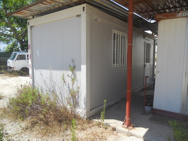 9#5469 Container spogliatoio