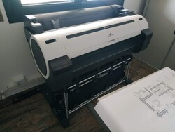 Plotter Canon iPF 770 - Lotto 0 (Asta 5470)