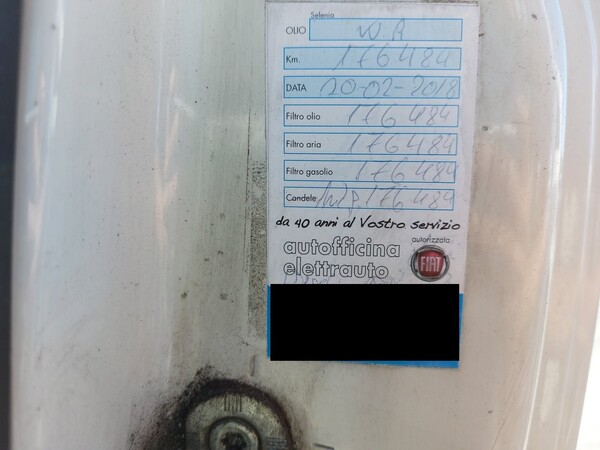 Immagine n. 12 - 13#5479 Autocarro Fiat Punto Evo