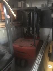 Linde forklift E12 - Lot 10 (Auction 5482)