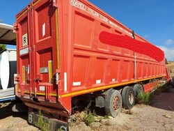 Adamoli Car semi trailer - Lot 4 (Auction 5487)