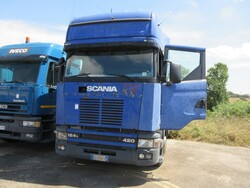 Scania road truck - Lot 17 (Auction 5491)