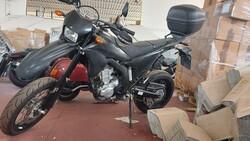 Yamaha VR250 motorcycle - Lot 42 (Auction 5491)