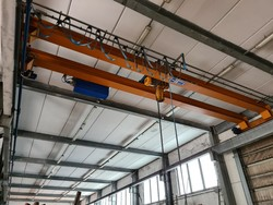Omis double girder overhead traveling crane - Lot 1 (Auction 5493)