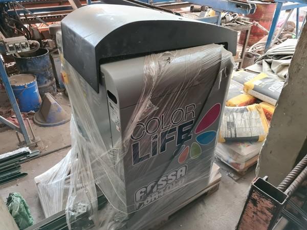 11#5493 Mescolatrice/lavatrice per colore Fast e Fluid