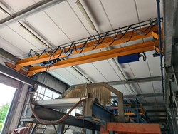Omis double girder overhead traveling crane - Lot 2 (Auction 5493)