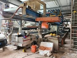 Impianto produzione solai cemento armato