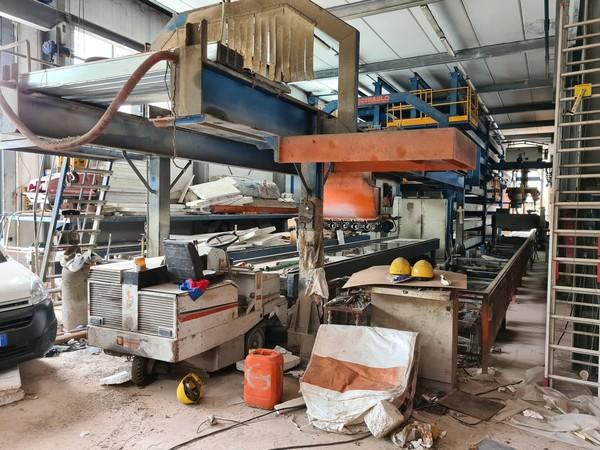 6#5493 Impianto produzione solai cemento armato