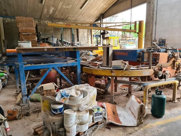 7#5493 Impianto polivalente per produzione travetti in laterizio Schiaslo