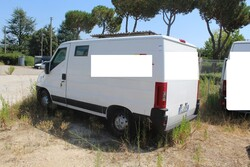 Fiat Ducato van - Lot 33 (Auction 5495)
