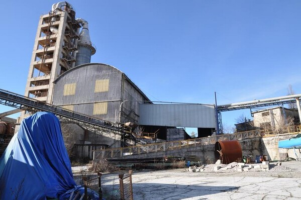 1#5504 Complesso aziendale dedito alla produzione di cemento