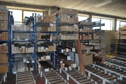 Warehouse of wooden strips and raw materials - Lot 2 (Auction 5519)