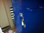 Porta blindata e attrezzatura - Lotto 23 (Asta 5521)