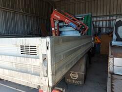 Nissan crane truck - Lot 7 (Auction 5521)