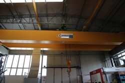 Overhead crane Meloni - Lot 20 (Auction 5528)