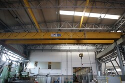 Double girder overhead crane Samo - Lot 23 (Auction 5528)
