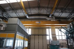 Double girder overhead crane Meloni - Lot 25 (Auction 5528)