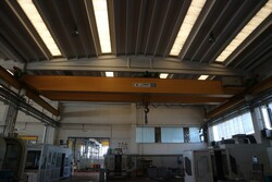 Double girder overhead crane Meloni - Lot 5 (Auction 5528)
