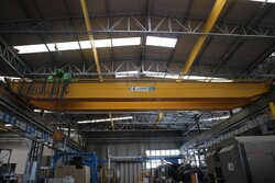 Double girder overhead crane Meloni - Lot 7 (Auction 5528)