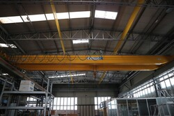 Double girder overhead crane Meloni - Lot 8 (Auction 5528)