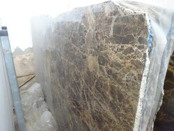 Emperador black marble slabs - Lot 308 (Auction 5538)