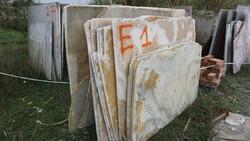 White onyx and honey onyx slabs - Lote 559 (Subasta 5538)