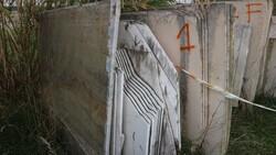 Arabescato grigio and limestone marble slabs - Lote 565 (Subasta 5538)
