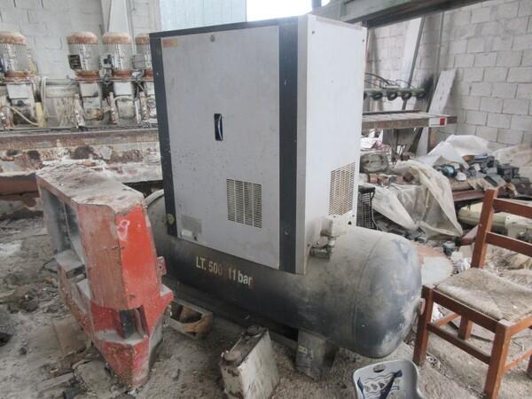 1#5539 Compressore Balma e idropulitrice Lavor in vendita - foto 2