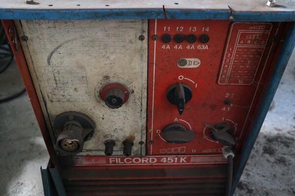 2#5551 Caldaie Sceat e attrezzatura officina in vendita - foto 6