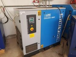 Impianto aria compressa ed essiccatore Ceccato - Lotto 3 (Asta 5557)