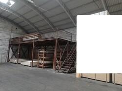 Soppalco industriale con struttura in metallo - Lotto 7 (Asta 5568)