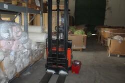 Toyota electric pallet truck - Lot 1 (Auction 5571)