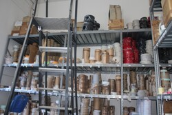 Metal shelving - Lot 30 (Auction 5571)