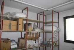 Metal shelving and office furniture - Lot 33 (Auction 5571)