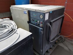 Ingersoll compressor and dryer Tem - Lot 4 (Auction 5576)