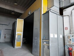 Ecoair MT15 oven cabin and Saima suction wall - Lot 6 (Auction 5576)