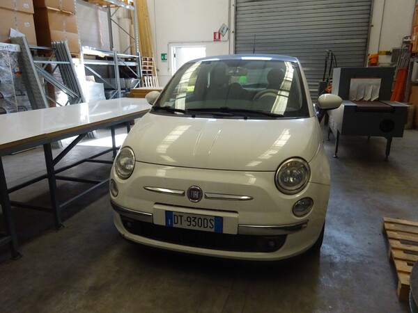11#5579 Automobile Fiat 500