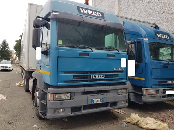 114#5580 Autocarro Iveco Magirus Eurostar
