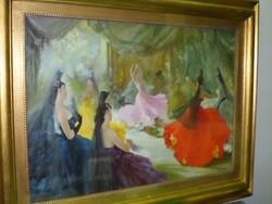 Dipinto Fantasia Spagnola