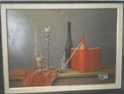 Painting subject still life - Lot 22 (Auction 5581)