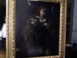 Painting subject ecstasy of St  Francis - Lote 26 (Subasta 5581)