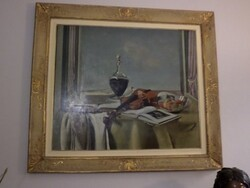 Painting subject still life - Lot 28 (Auction 5581)